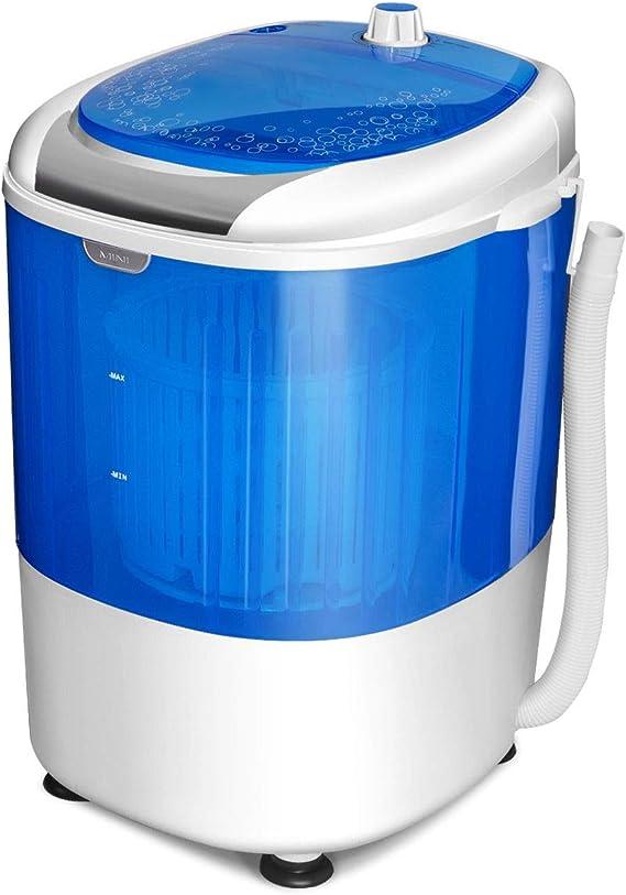 Mini Washing Machine Folding Portable Washer Compact Clothes Laundry Tub Automatic Rotating Turbines Washer USB Type Bucket