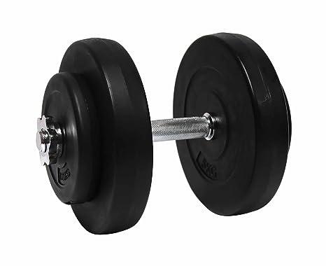 Charles Bentley aptitud cemento de 15 kg con mancuernas y pesas de gimnasio entrenamiento del ejercicio
