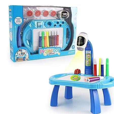 KOBWA Proyector de Dibujo para niños, proyector de Dibujo ...
