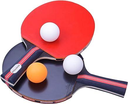 Sport En Vakantie Buitensport Ping Pong De Table Filet 2 Raquette