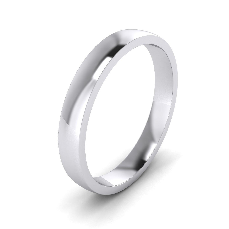 2/3/4/5/6/7/8/9mm Unisex Sterling Silver Super Heavy Court Shape Polished Wedding Ring LANDA JEWEL HC-P-925