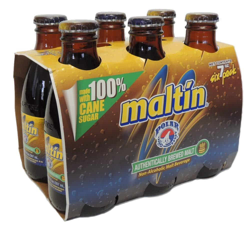 Maltin six pack 7 oz bottles