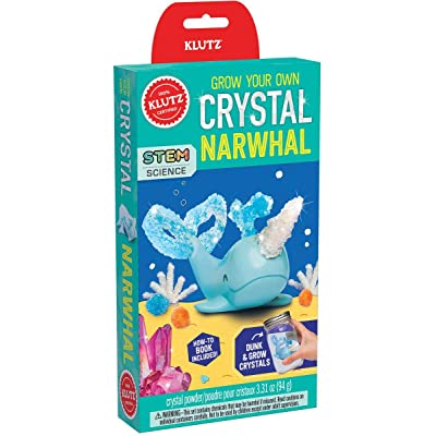 Klutz Grow Your Own Crystal Narwhal, K836554, Multicolor: Toys & Games
