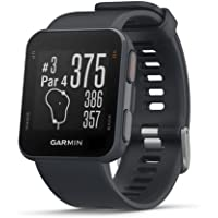 Garmin Approach S10 - Reloj de Golf GPS Ligero, Color Gris, 010-02028-01, 1.2 Inches, Granito Azul