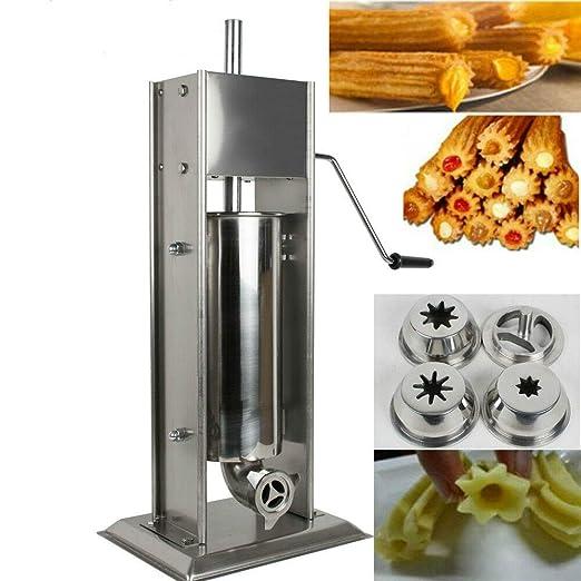 TX® Churreras Churros Filler Maker máquina de acero ...