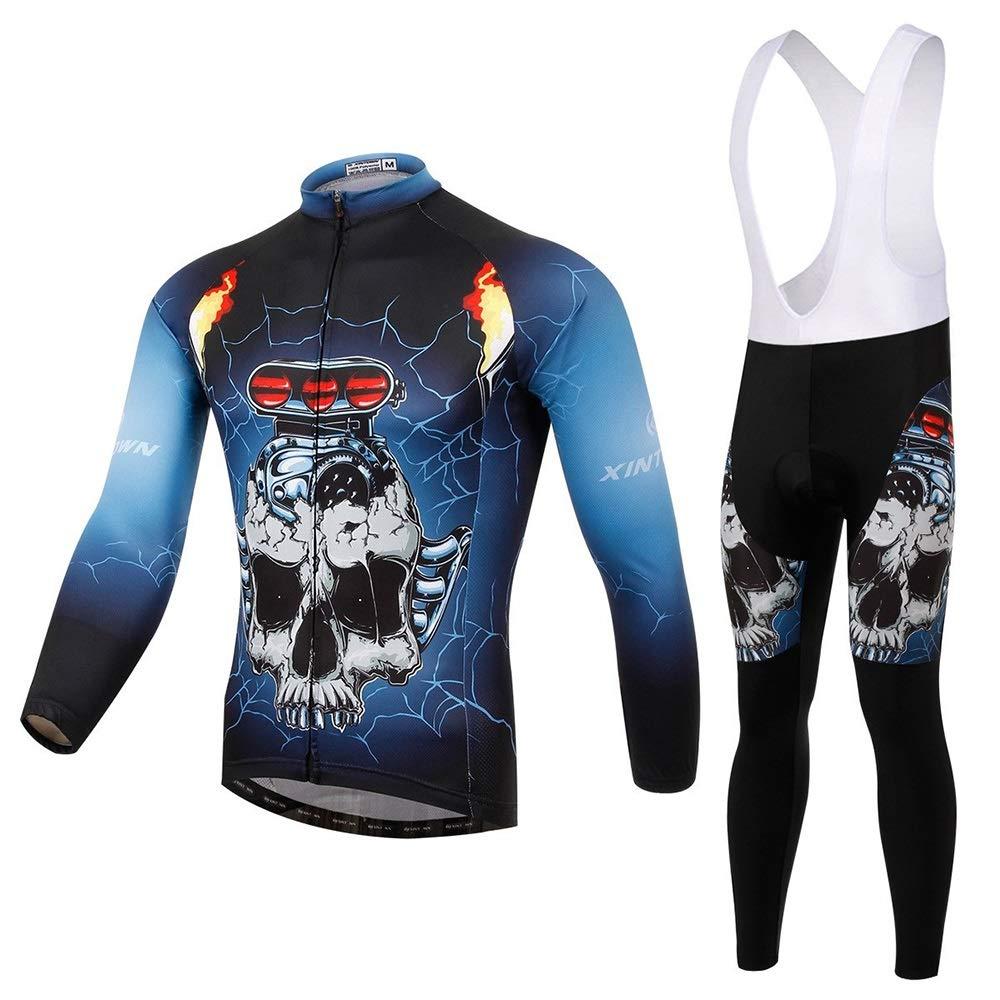 Bike Jersey Set Langarmanzug Fahrradservice Frühjahr und Herbst Feuchtigkeitstransport Schnelltrocknende Hose Fahrrad Trikot LPLHJD