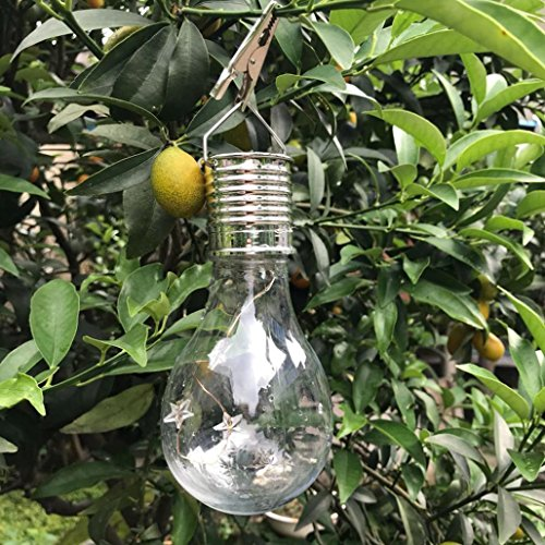 LiPing Color Waterproof Solar Rotatable Outdoor Garden Camping Hanging LED Light Lamp Bulb, Ideal as Night Lights, Kids Children Adult Nightlight,Home Gift Idea (Multi-colored) by LiPing (Image #3)