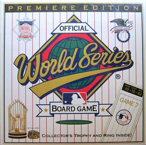 OFFICIAL WORLD SERIES BOARD GAME premiere edition by world series by world series