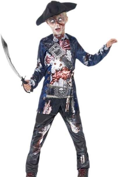 erdbeerclown – joven Zombie pirata, mar Ladrones Disfraz ...