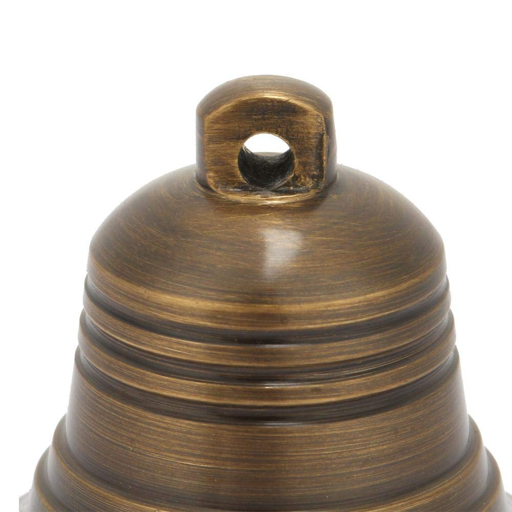 Brass Bell,Vintage Antique Brass Hanging Ship Bell Brass Ship Bell Antique for School Dinner Pub /& Reception Home Decor Wall Mounted,Wall Hanging Antique Bell