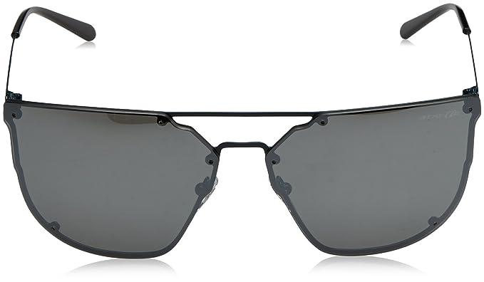 Mens 0AN3073 692/6G Sunglasses, Anthracite/Greymirrorsilver, 63 Arnette
