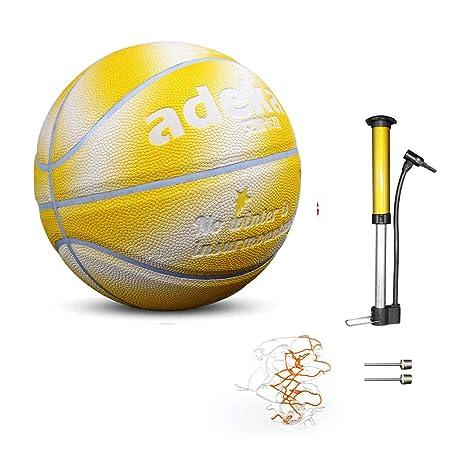 Baloncesto con Brillo De PU, Bola Fluorescente, Brillo ...