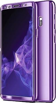 Compatible con Samsung Galaxy S8/S8 Plus Funda, Caja de Metal Chapado Funda Ultrafino para Espejo Funda Antideslizante Funda de galvanoplastia Funda Protectora Lujosa Funda Delgado Oro Rosa: Amazon.es: Electrónica