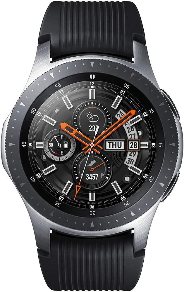 Samsung Galaxy Watch - Reloj Inteligente, Bluetooth, Plata, 46 mm- Version española: Amazon.es: Electrónica