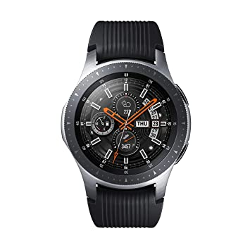 Samsung Galaxy Watch - Reloj Inteligente, Bluetooth, Plata, 46 mm- Version española