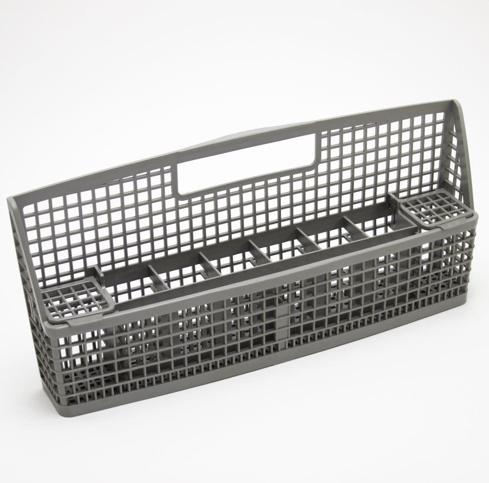 Whirlpool W10840140 Dishwasher Silverware Basket Original Equipment (OEM) Part, Gray