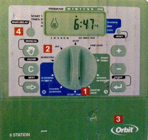 Orbit Watermaster 6-Station Dual-Program Sprinkler Timer