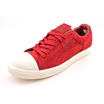 new product 3d341 dfa63 Amazon.com | PUMA Clyde x Undftd Coverblock (Rio red/Whisper ...