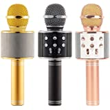 Mappo MagbotTM WS-858 Wireless Bluetooth Microphone for All Android and iOS Devices {Random Colour}