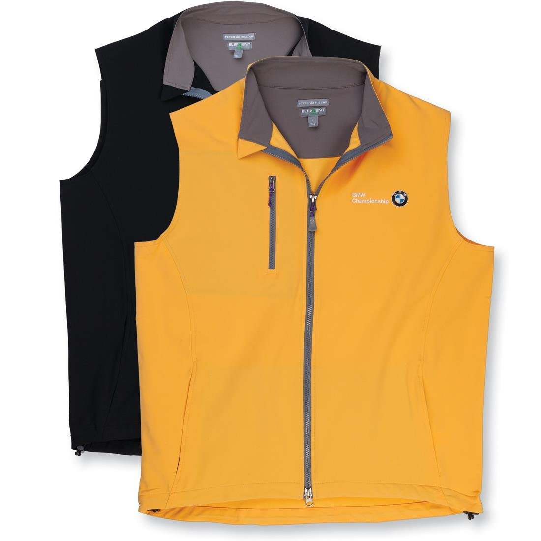 BMW men's Peter Millar Winnipeg windblock vest