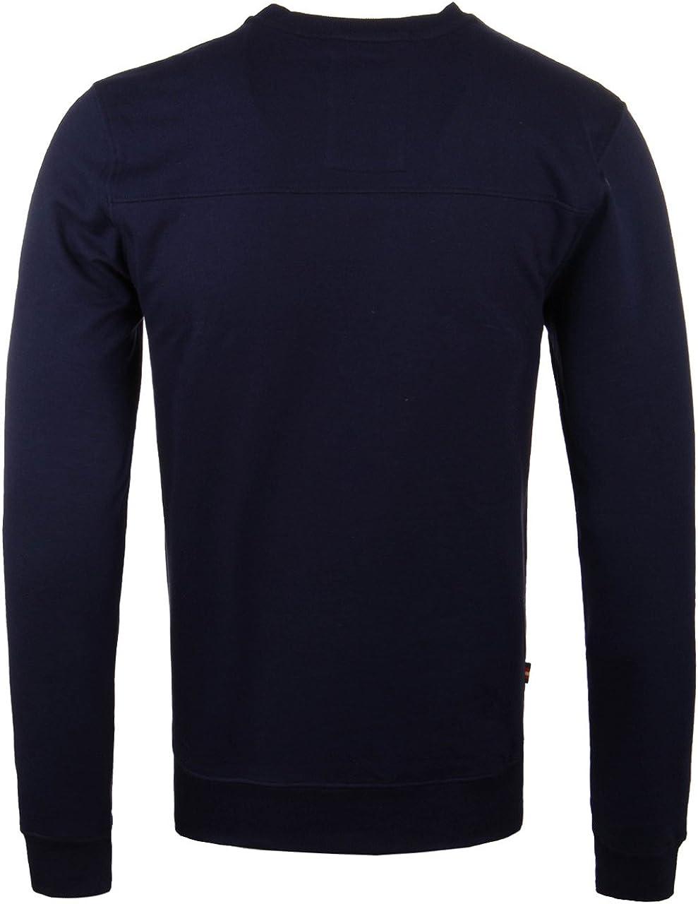 LUKE 1977 Mens The Runner Crew Neck Basic Long Sleeve Sweatshirt Top