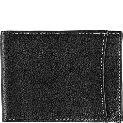 Compact Wallet Murphy (Johnston & Murphy Men's Slimfold Wallet Black 1 One Size)