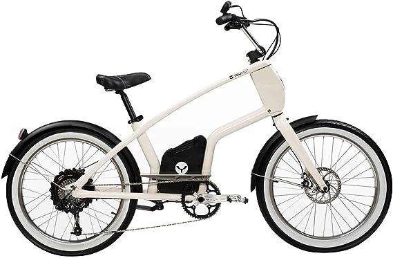 YouMo One X250 City-Rider - Bicicleta eléctrica, Color Crema ...
