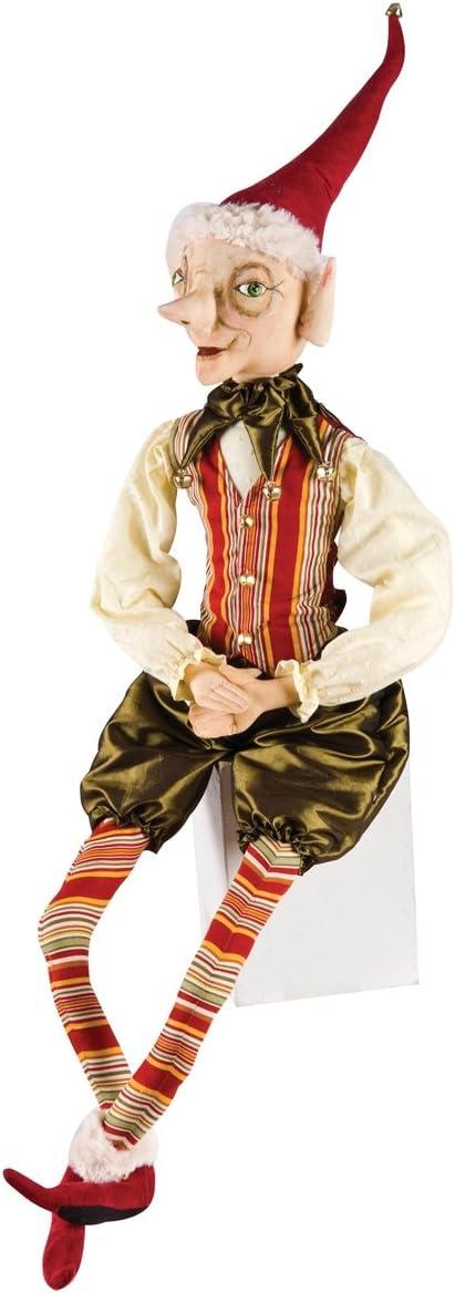 Elijah Elf Christmas Figure Soft Sculpture Doll