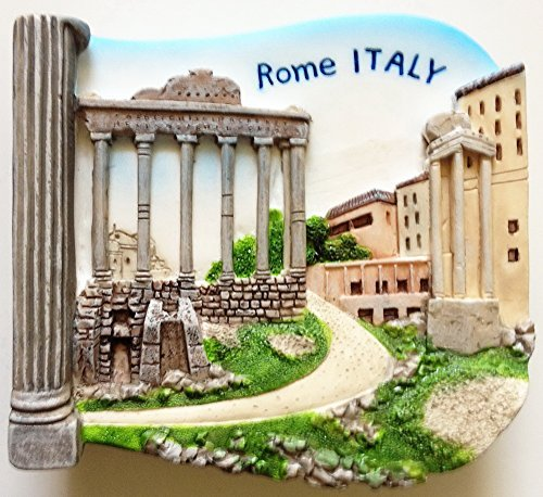 Roman Forum ROME Italy Resin 3D fridge Refrigerator Thai Magnet Hand Made Craft. by Thai MCnets by Thai MCnets