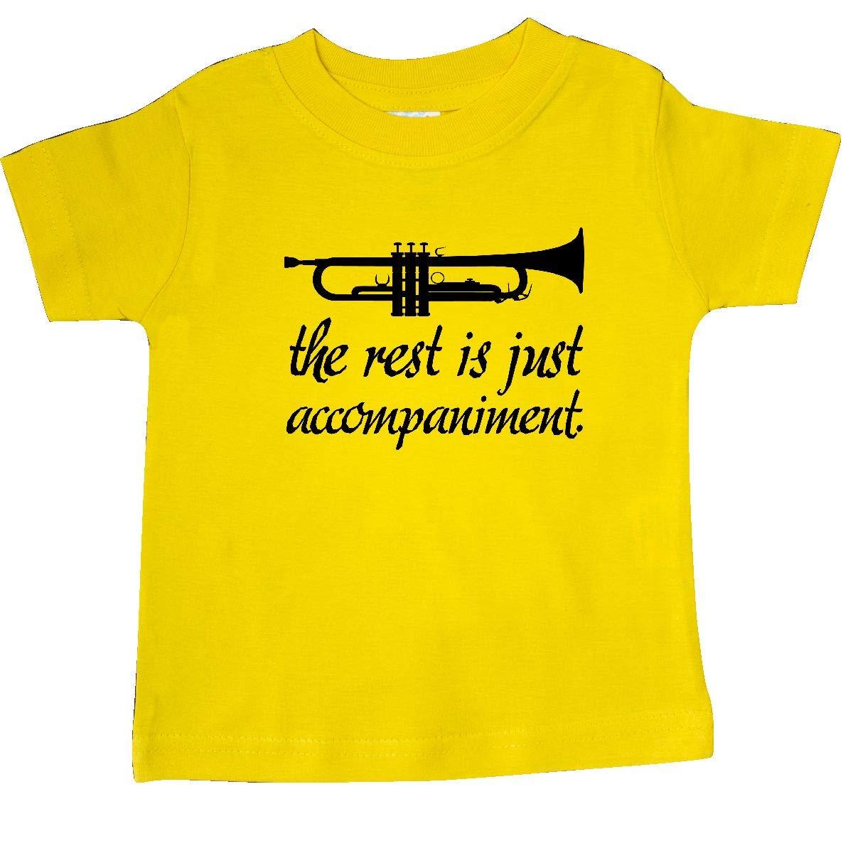 inktastic Trumpet Music Joke Baby T-Shirt
