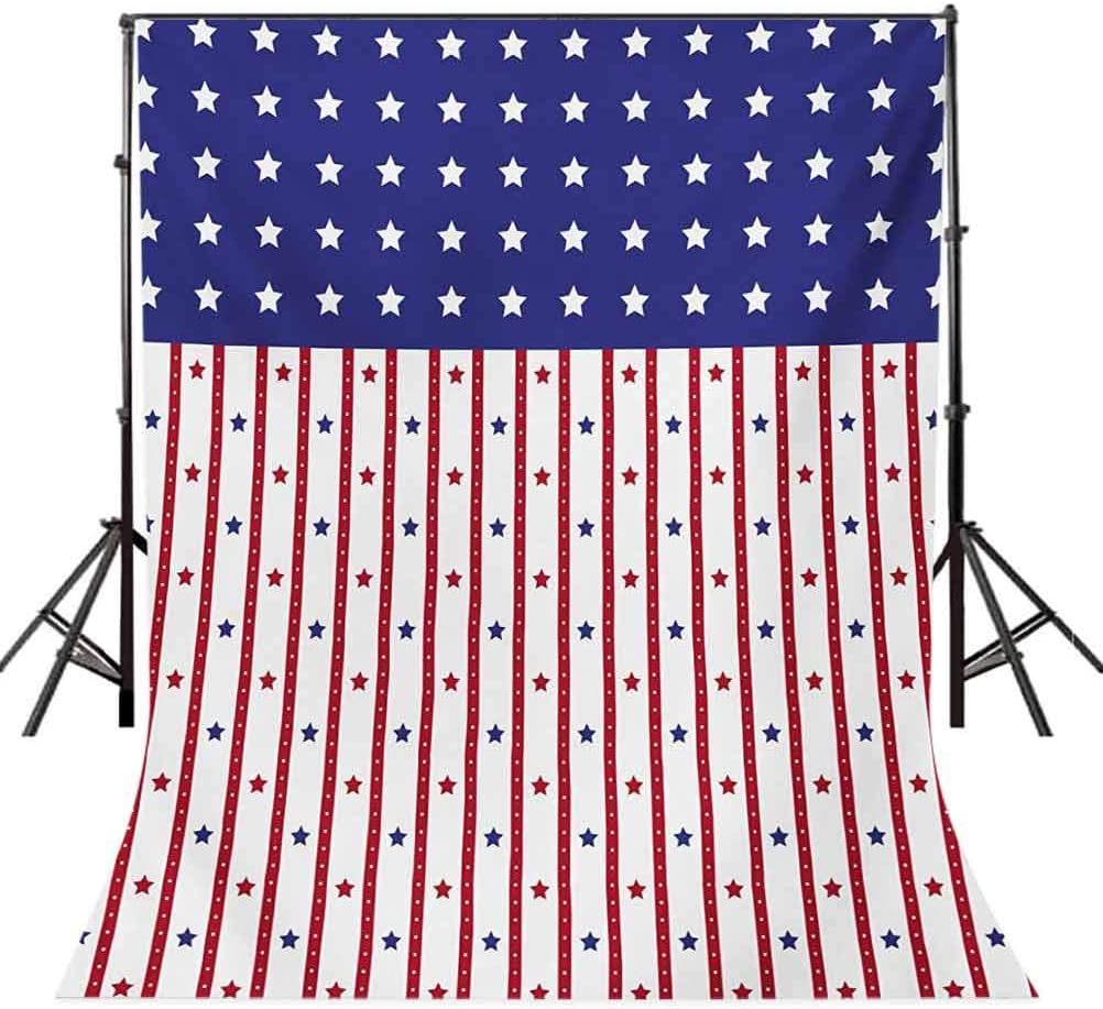 USA 10x15 FT Backdrop Photographers,American Flag with Stars and Stripes Nationality Independence Day Theme Background for Child Baby Shower Photo Vinyl Studio Prop Photobooth Photoshoot