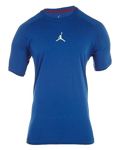fe4066e9438 Amazon.com | Jordan Dri-fit Dominate Fitted Training T-Shirt Style ...