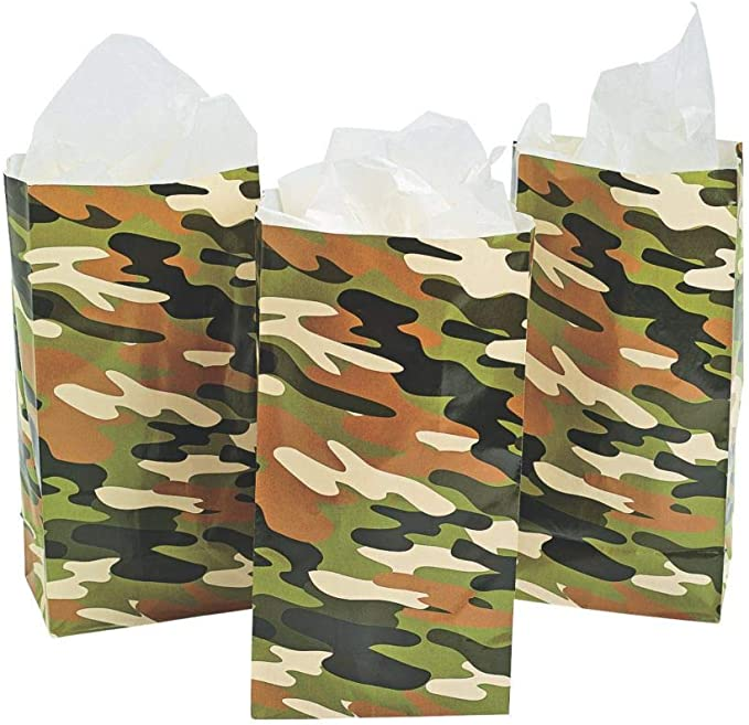 Army Bag,Kitty Cat Party Supplies,Pet Cat Birthday Theme,Girls,Boys,Kids,Home,Classroom,Baby Shower 24 Pack