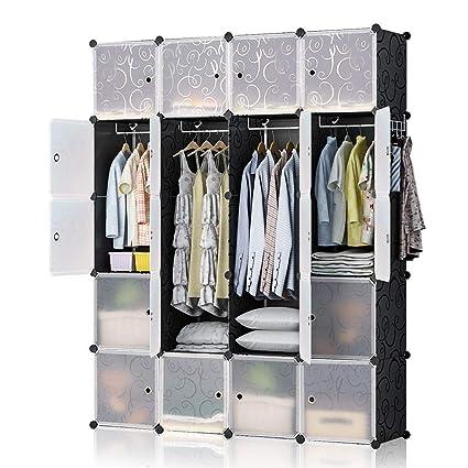 Amazon.com: YOZO Modular Wardrobe Portable Clothes Closet ...