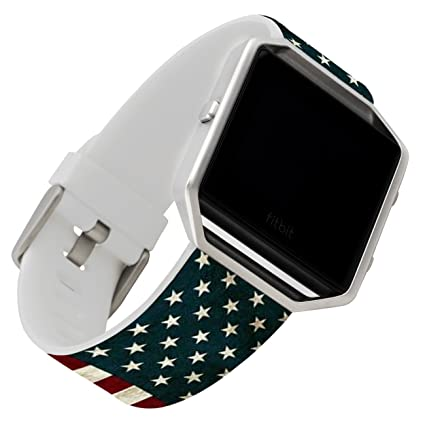 Flag Bands for Fitbit Blaze,Ecute Small(5.6