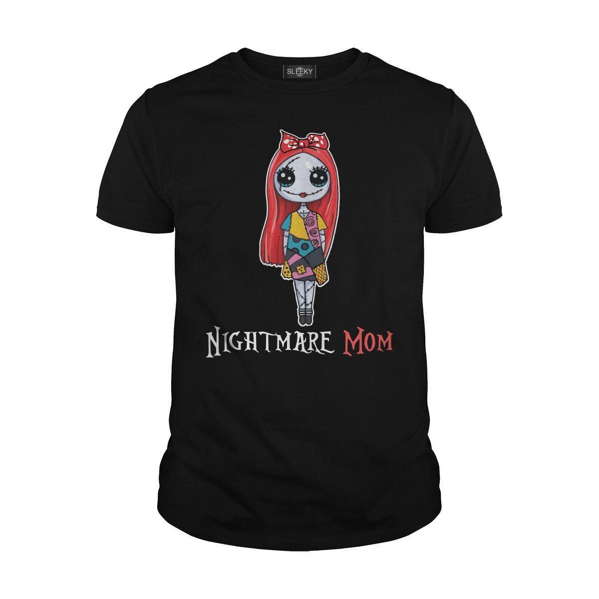 Nightmare Mom Nightmare Before Christmas T Shirt 1671