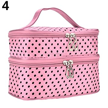 09fc13296aa7 Amazon.com : gainvictorlf Makeup Bag Women Large Cosmetic Case ...