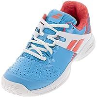 Babolat Propulse Allcourt - Zapatillas de Tenis Unisex para niños, Color Azul Claro y Blanco