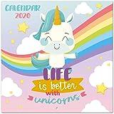Calendario Unicornios 2020 (Calendarios y agendas): Amazon ...