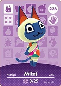 Mitzi - Nintendo Animal Crossing Happy Home Designer Amiibo Card - 226