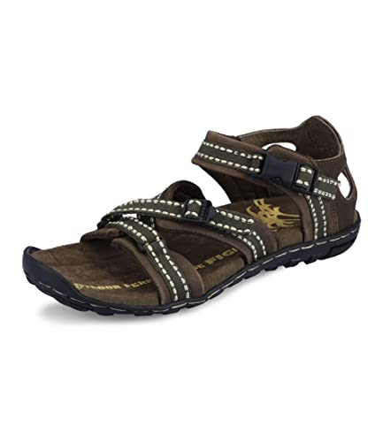 271bdb8c7e76 Fighter Men s Sandals 14008 Green Fabric Size 7 UK  Buy Online at ...