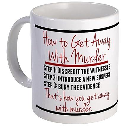 amazon com cafepress how to get away with murder mug mugs