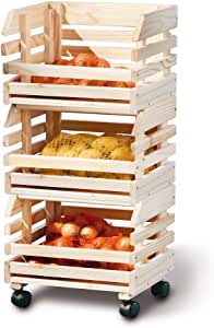 Link 60100400 Fruit Box Trolley Fruits by Links