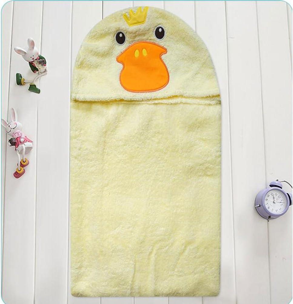 CuteOn Bambino 100/% Cotone Bagno Asciugamano Morbido Cappuccio Asciugamano per Neonato Bambino piccolo e Bambini Blu Squalo 28.74 x 35.43