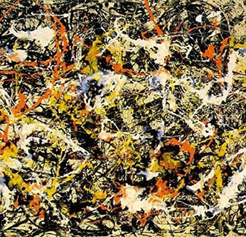 Battle Road Press Convergence 500 Plus Piece Jackson Pollock Jigsaw Puzzle