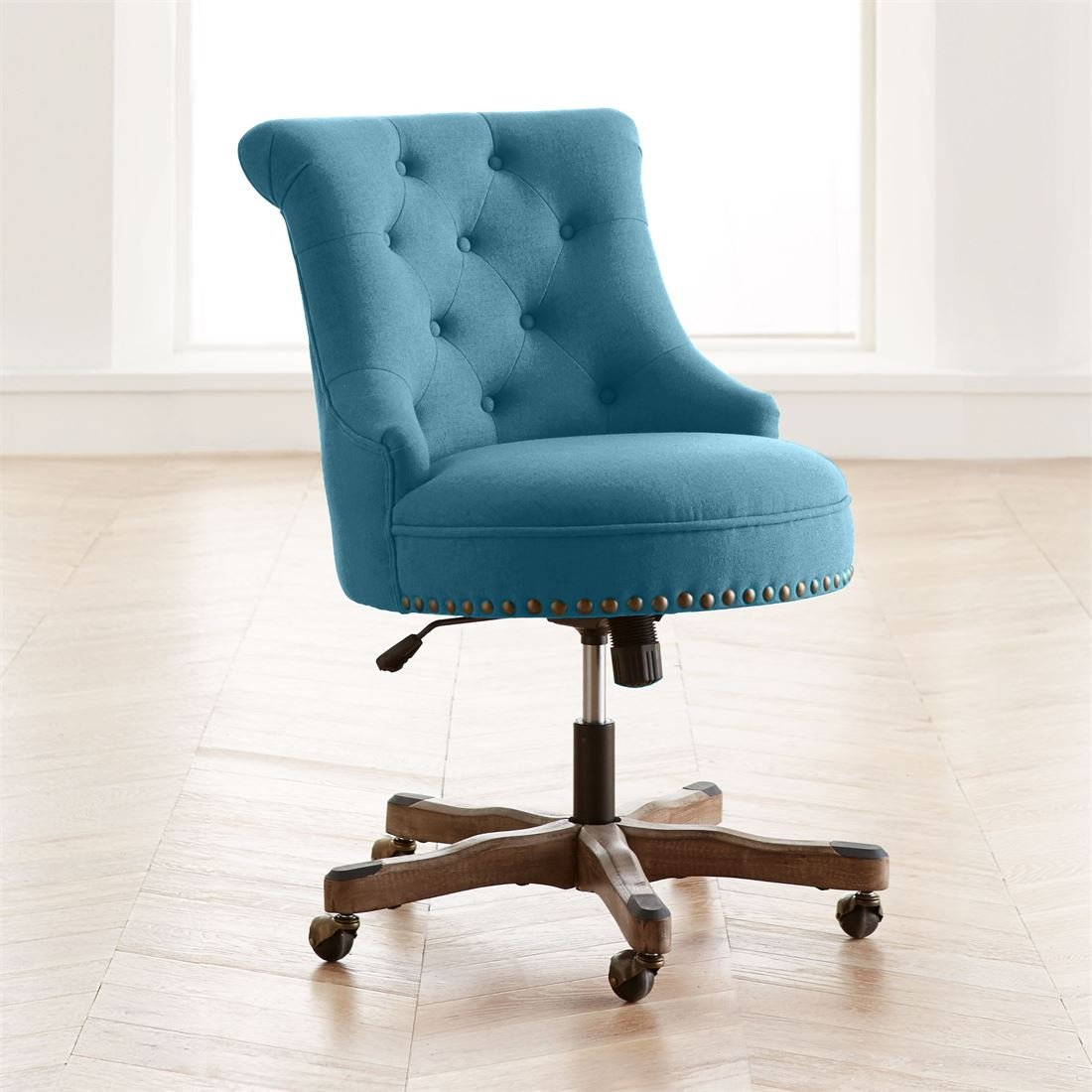 Brylanehome Sabina Office Chair (Turquoise,0)
