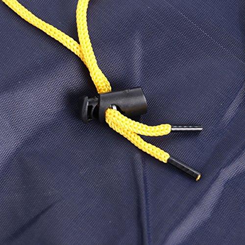 homme Femme pour capuche poncho VORCOOL pour pluie de avec poncho vlo de Manteau pour marine Bleu de Cape pluie pluie wqqf6A