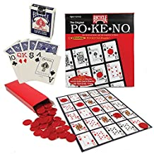 Pokeno Game Board set with Bicycle Playing Cards and Pokeno Chips by Bicycle