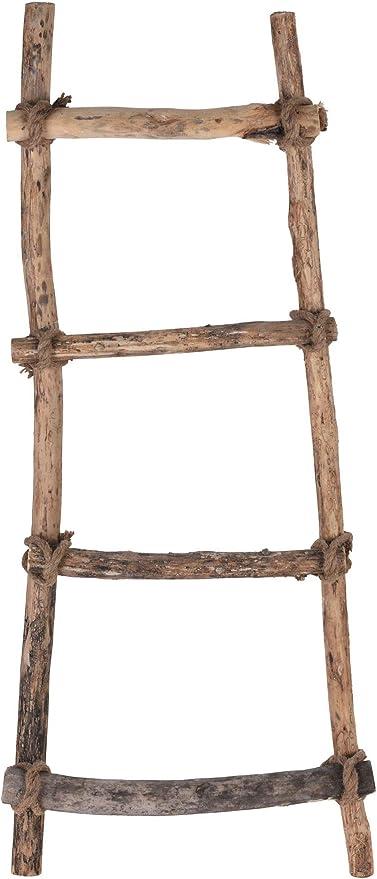 Spetebo - Escalera Decorativa con Cuerda (120 x 40 cm, Madera Maciza): Amazon.es: Juguetes y juegos