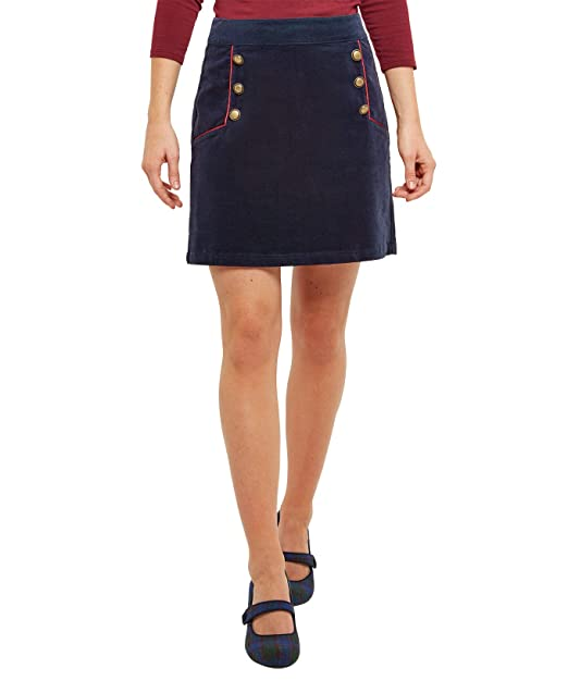 c3d3c6eb22 Joe Browns Womens Charismatic Cord Mini Skirt Navy 8: Amazon.co.uk ...